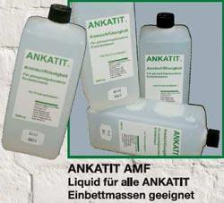 Liquid für allen Ankatit-Eibettmassen