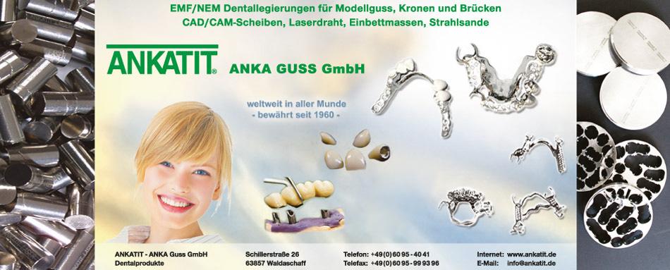 EMF/NEM-Dentallegierungen für Modellguss, Kronen und Brücken